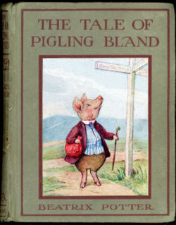 Beatrix Potter Cover of The Tale of Pigling Bland
