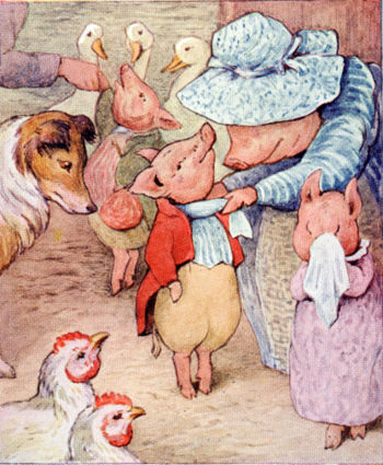 Beatrix Potter from The Tale of Pigling Bland