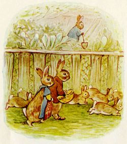 Beatrix Potter from The Tale of the Flopsy Bunnies2