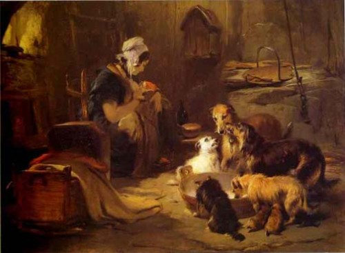 Edwin_Landseer_A_Highland_Breakfast