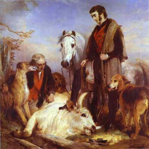 Edwin_Landseer_Death_of_the_Wild_Bull