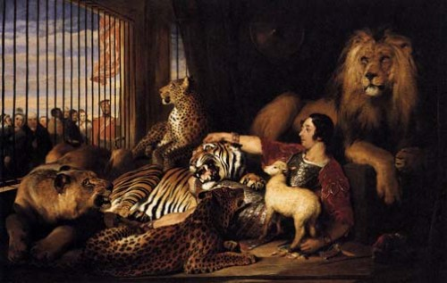 Edwin_Landseer_Isaac_van_Amburgh_and_his_Animals