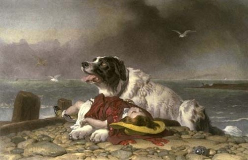 Edwin_Landseer_Saved