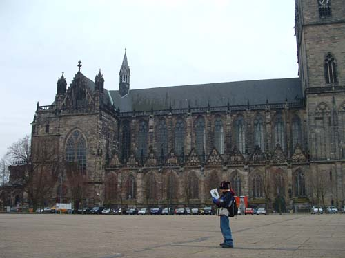 Magdeburger Dom in Magdeburg and Basaj Family for blog