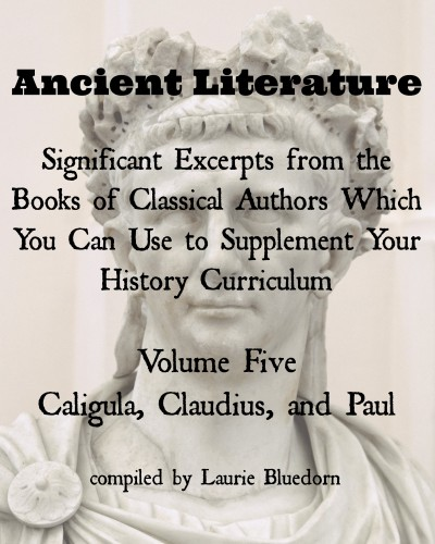 Ancient History Primary Sources Caligula, Claudius, and Paul Cover
