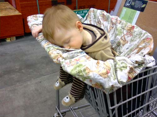 eric asleep at menards