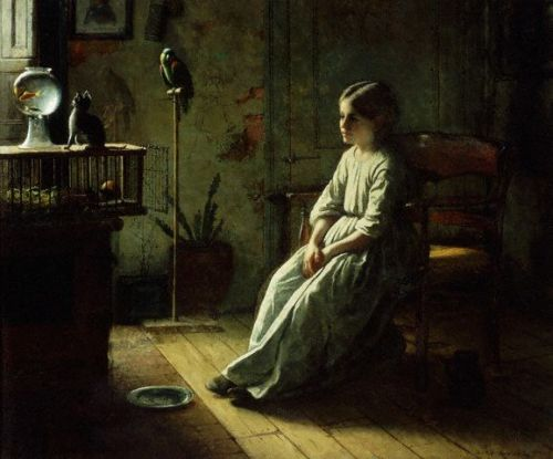 by Jonathan Eastman Johnson