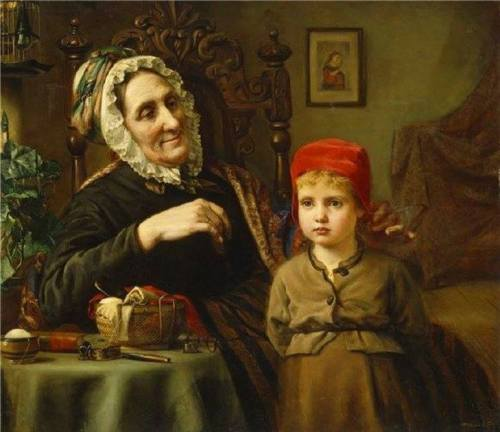 Little Red Riding Hood and Grandmother