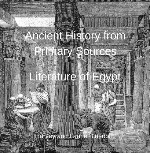 Ancient History from Primary Sources Egypt final cover