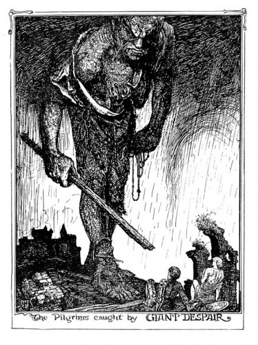 Henry Justice Ford giant despair