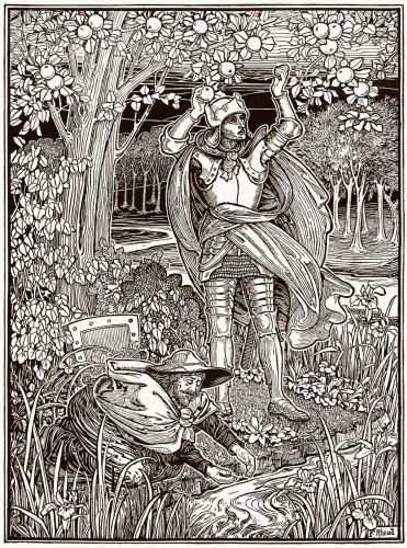 They went on their way to a pleasant river Frederick Rhead