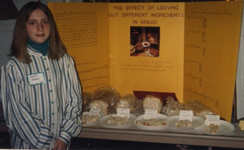3 May, Johannah, Science Fair