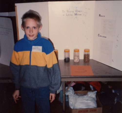 Fall Science Fair Project, Hans
