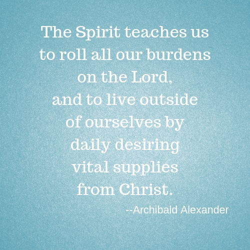 The Spirit teaches us