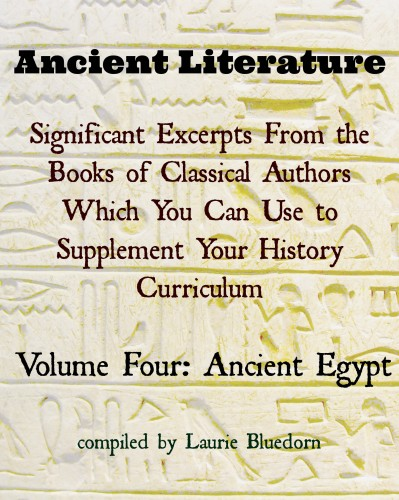 Ancient History Primary Sources Ancient Egypt Cover